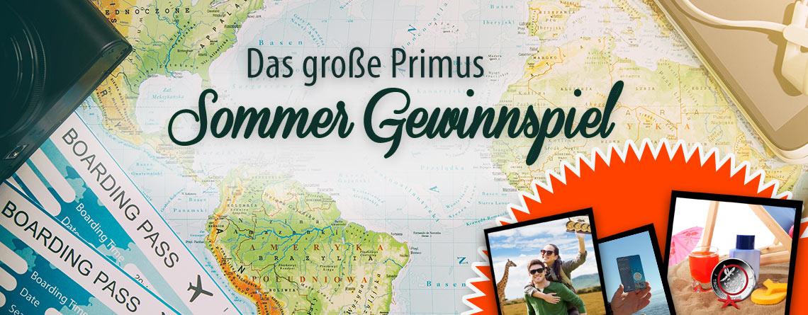 Das große Primus Sommer Gewinnspiel auf Facebook