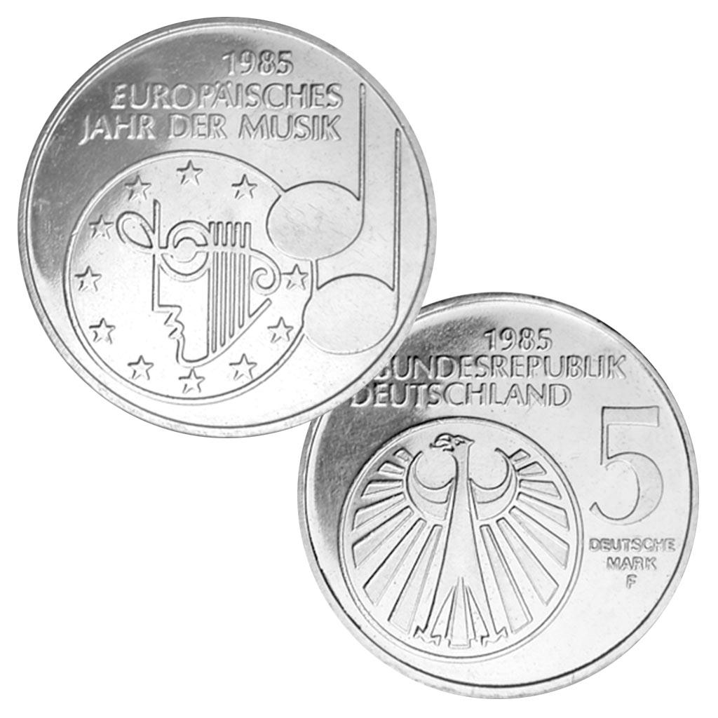 Brd 5 Dm Gedenkmünzen 1983 1986 Primus Münzen Blog