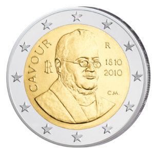 Italien 2 Euro-Gedenkmünze 2010 – 200. Geburtstag von Camillo Benso Graf von Cavour