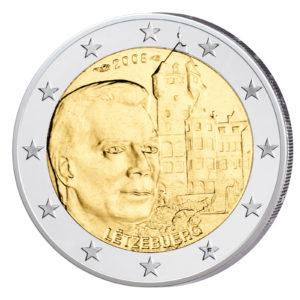 Luxemburg 2 Euro-Gedenkmünze 2008 - Château de Berg