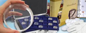 Die richtige Aufbewahrung von Münzen - Zubehörtipp – Werte bewahren