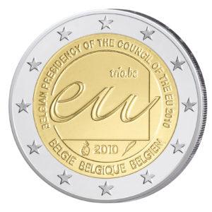 Belgien 2 Euro-Gedenkmünze 2010 – EU-Ratspräsidentschaf