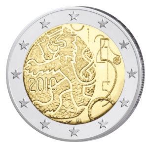 Finnland 2 Euro-Gedenkmünze 2010 – 150 Jahre finnische Währung