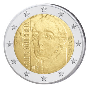 Finnland 2 Euro-Sondermünze 2012 - 150. Geburtstag Helene Schjerfbeck