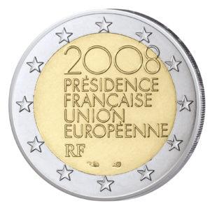 Frankreich 2 Euro-Gedenkmünze 2008 EU-Ratspräsidentschaft