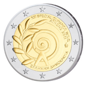 Griechenland 2 Euro-Gedenkmünze 2011 – Special Olympics