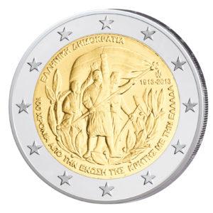 Griechenland 2 Euro-Sondermünze 2013 - 100 Jahre Beitritt Kretas zu Griechenland