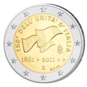 Italien 2 Euro-Gedenkmünze 2011 – 150 Jahre italienische Einheit