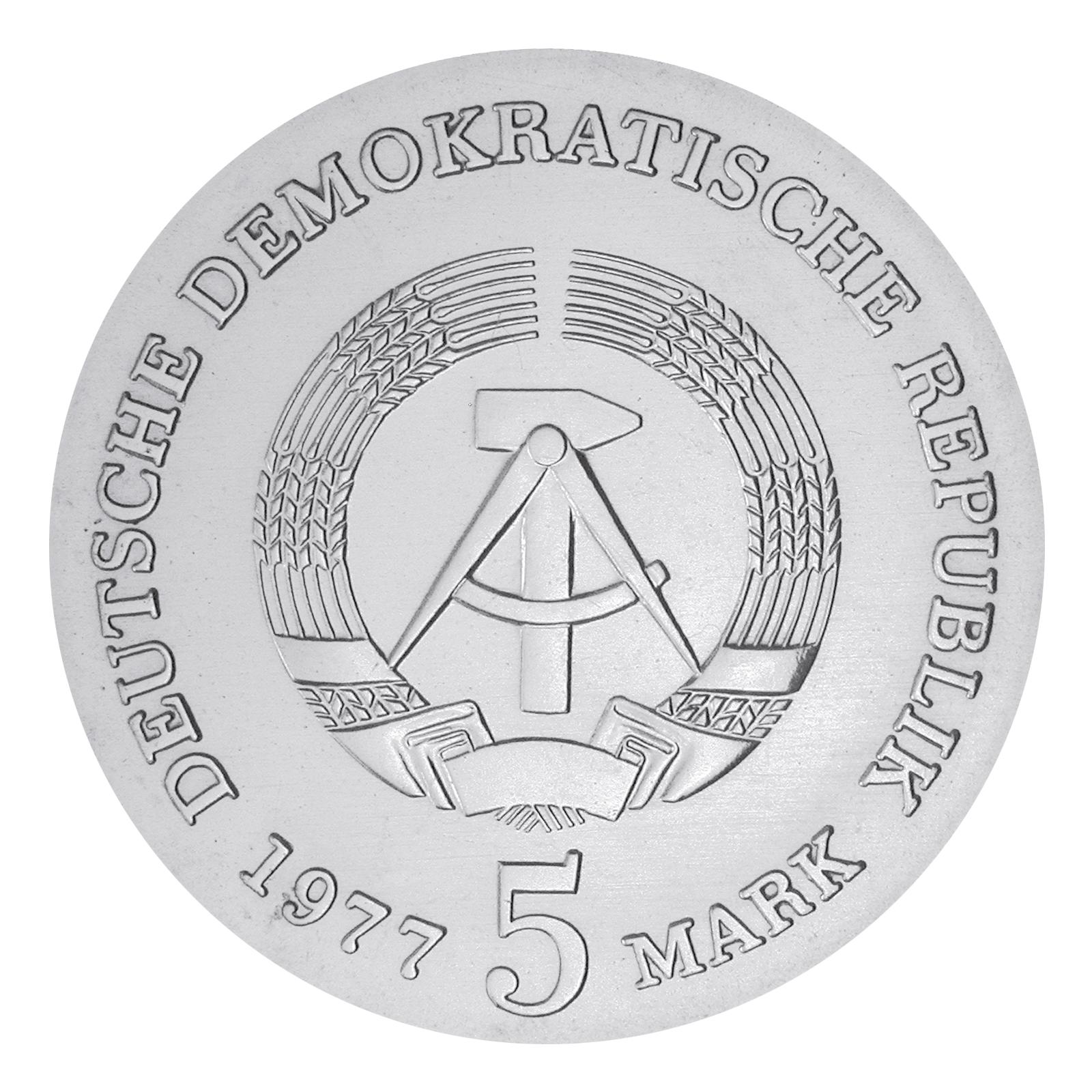 Ddr 5 Mark Gedenkmünzen 1977 1981 Primus Münzen Blog