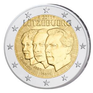 Luxemburg 2 Euro-Gedenkmünze 2011 – Jean von Luxemburg