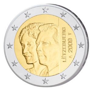 Luxemburg 2 Euro-Sondermünze 2009 – Thronbesteigung Großherzogin Charlotte