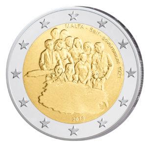 Malta 2 Euro-Sondermünze 2013 - Selbstverwaltung 1921