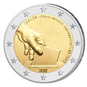 Malta 2 Euro-Gedenkmünze 2011 – Wahl 1849