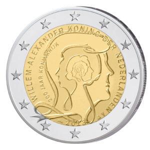 Niederlande 2 Euro-Sondermünze 2013 - 200 Jahre Königreich