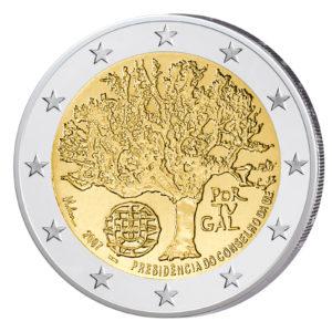 Luxemburg 2 Euro-Sondermünze 2007 - Großherzoglicher Palais