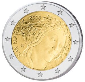 San Marino 2 Euro-Gedenkmünze 2010 – 500. Todestag von Sandro Botticelli