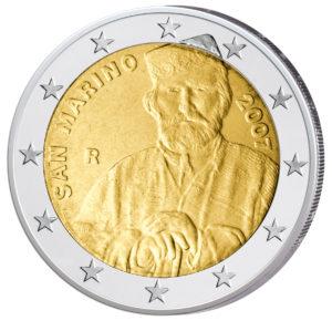 San Marino 2 Euro-Sondermünze 2007 200. Geburtstag Giuseppe Garibaldi