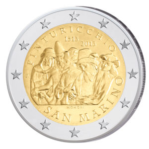 San Marino 2 Euro-Sondermünze 2013 - 500. Todestag von Pinturicchio