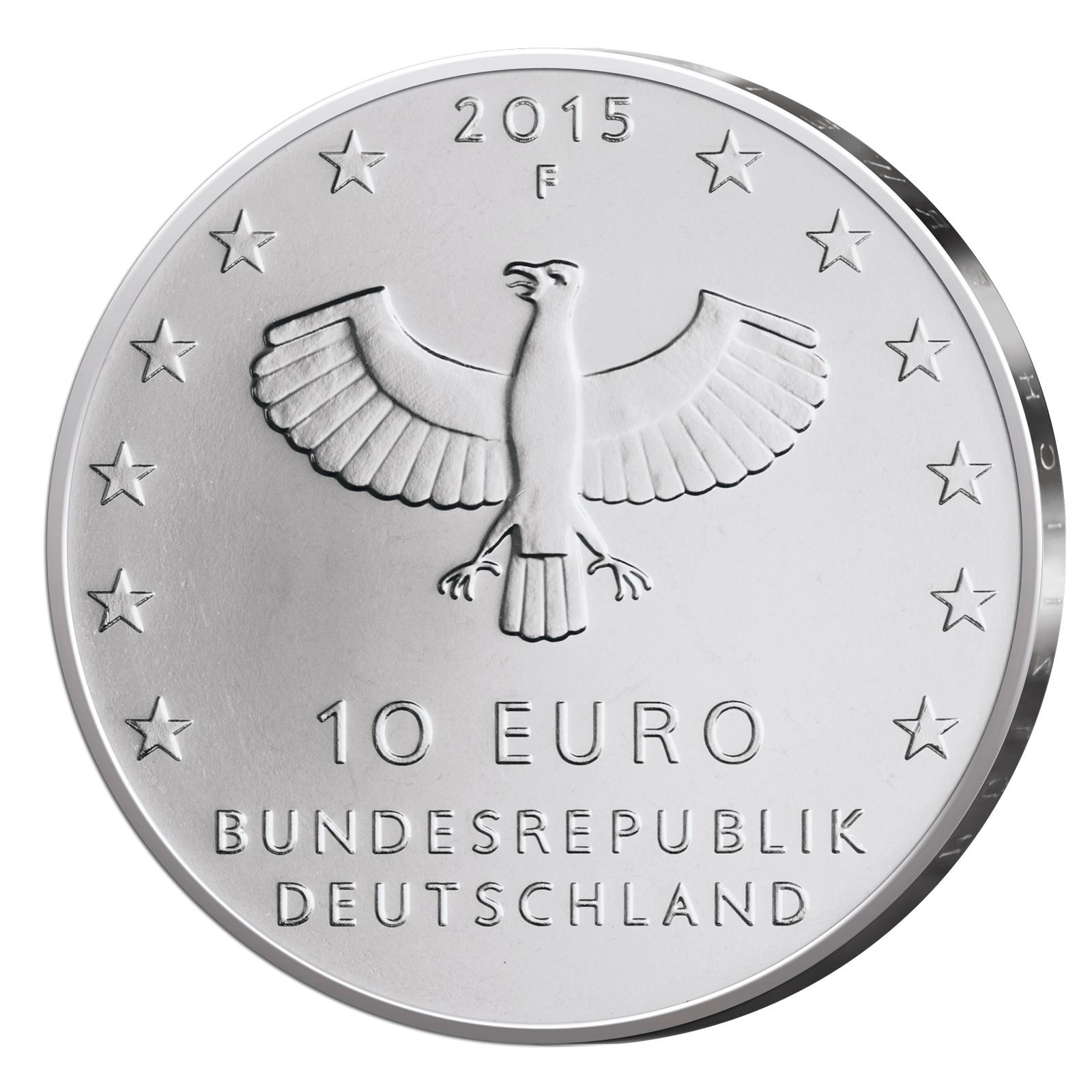 10 Euro Münzen Aus Deutschland 2015 Primus Münzen Blog