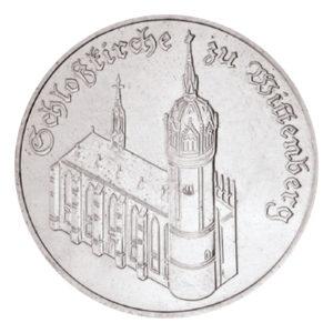 DDR 5 Mark 1983 Schlosskirche zu Wittenberg