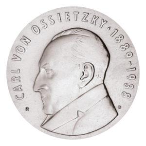 DDR 5 Mark 1988 100. Geburtstag Carl von Ossietzky