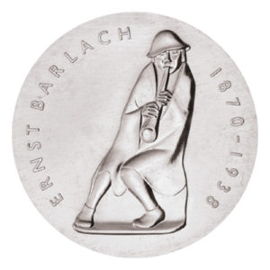 DDR 5 Mark 1988 50. Todestag von Ernst Barlach