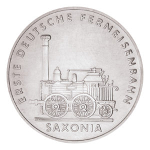 DDR 5 Mark Gedenkmünzen 1988 – 1990