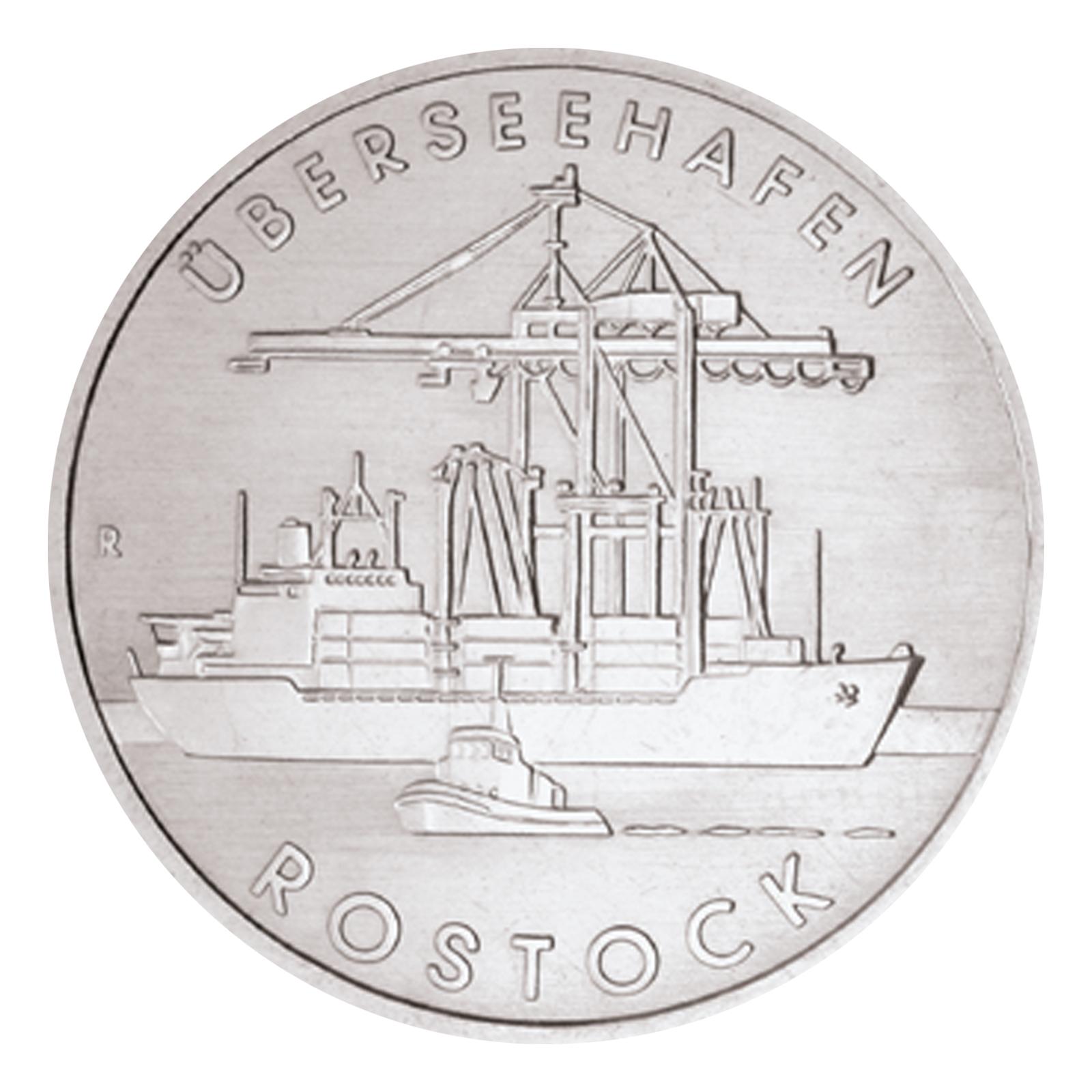 Jetzt Ausgegeben Brd 20 Euro 2018 800 Jahre Hansestadt Rostock