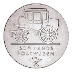 DDR 5 Mark 1990 500 Jahre Postwesen