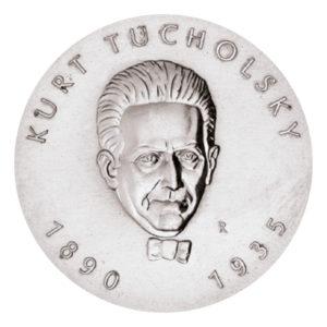 DDR 5 Mark 1990 100. Geburtstag Kurt Tucholsky