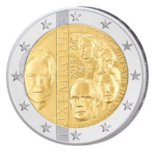 Luxemburg 2 Euro-Gedenkmünze 2015 - 125. Jahrestag der Dynastie Nassau-Weilburg