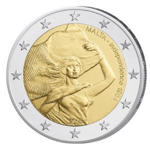Malta 2 Euro-Gedenkmünze 2014 - 50. Jahrestag Unabhängigkeit von Großbritannien