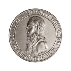 """Weimarer Republik 3 Reichsmark 1927 """"450 Jahre Universität Tübingen"""", J. 328"""