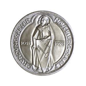 """Weimarer Republik 3 Reichsmark 1928 """"900 Jahre Naumburg an der Saale"""", J. 333"""