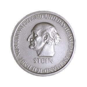 """Weimarer Republik 3 Reichsmark 1931 """"100. Todestag des Freiherrn vom und zum Stein"""", J. 348"""