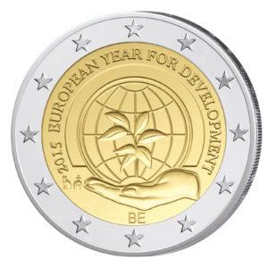 Belgien 2 Euro-Gedenkmünze 2015 – Europäisches Jahr der Entwicklung