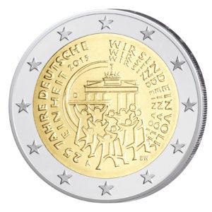 Deutschland 2 Euro-Gedenkmünze 2015 – 25 Jahre Deutsche Einheit
