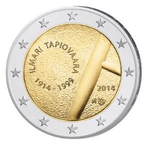 Finnland 2 Euro-Sondermünze 2014 – 100. Geburtstag von Ilmari Tapiovaara
