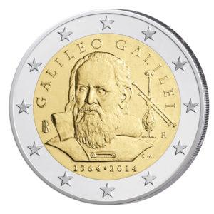 Italien 2 Euro-Sondermünze 2014 – 450. Geburtstag von Galileo Galilei