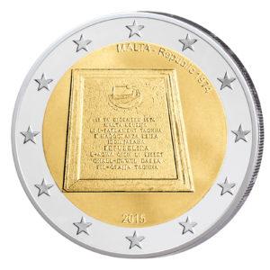 Malta 2 Euro-Gedenkmünze 2015 - Ausrufung der Republik 1974
