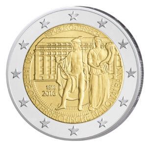 Österreich 2 Euro-Gedenkmünze 2016 - 200. Jahrestag der Gründung der Oesterr. Nationalbank