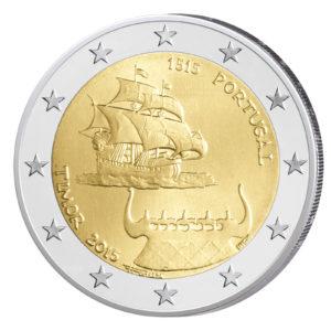 Portugal 2 Euro-Gedenkmünze 2015 - 500. Jahrestag der ersten Kontakte mit Timor