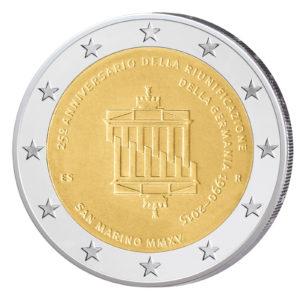 San Marino 2 Euro-Gedenkmünze 2015 - 25 Jahre Deutsche Einheit