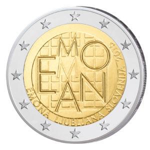 Slowenien 2 Euro-Gedenkmünze 2015 - 2000 Jahre römische Siedlung Emona