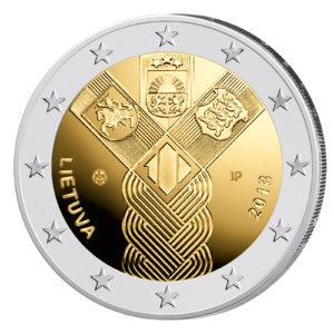 Baltische 2 Euro-Gemeinschaftsausgabe