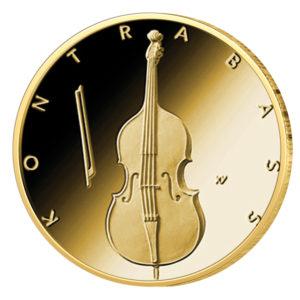 BRD 50 Euro 2018 Kontrabass, Copyright BVA - Ausgabedatum: 10. August 2018