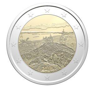 "Finnland 2 Euro-Gedenkmünze 2018 ""Finnische Nationallandschaften: Koli"""