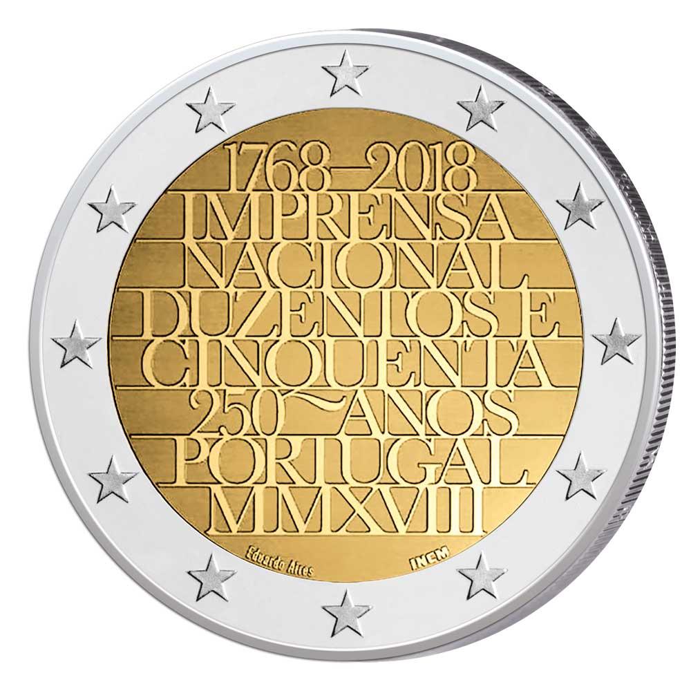 2 Euro Gedenkmünzen 2018 Münzbilder Und Informationen Zu Den