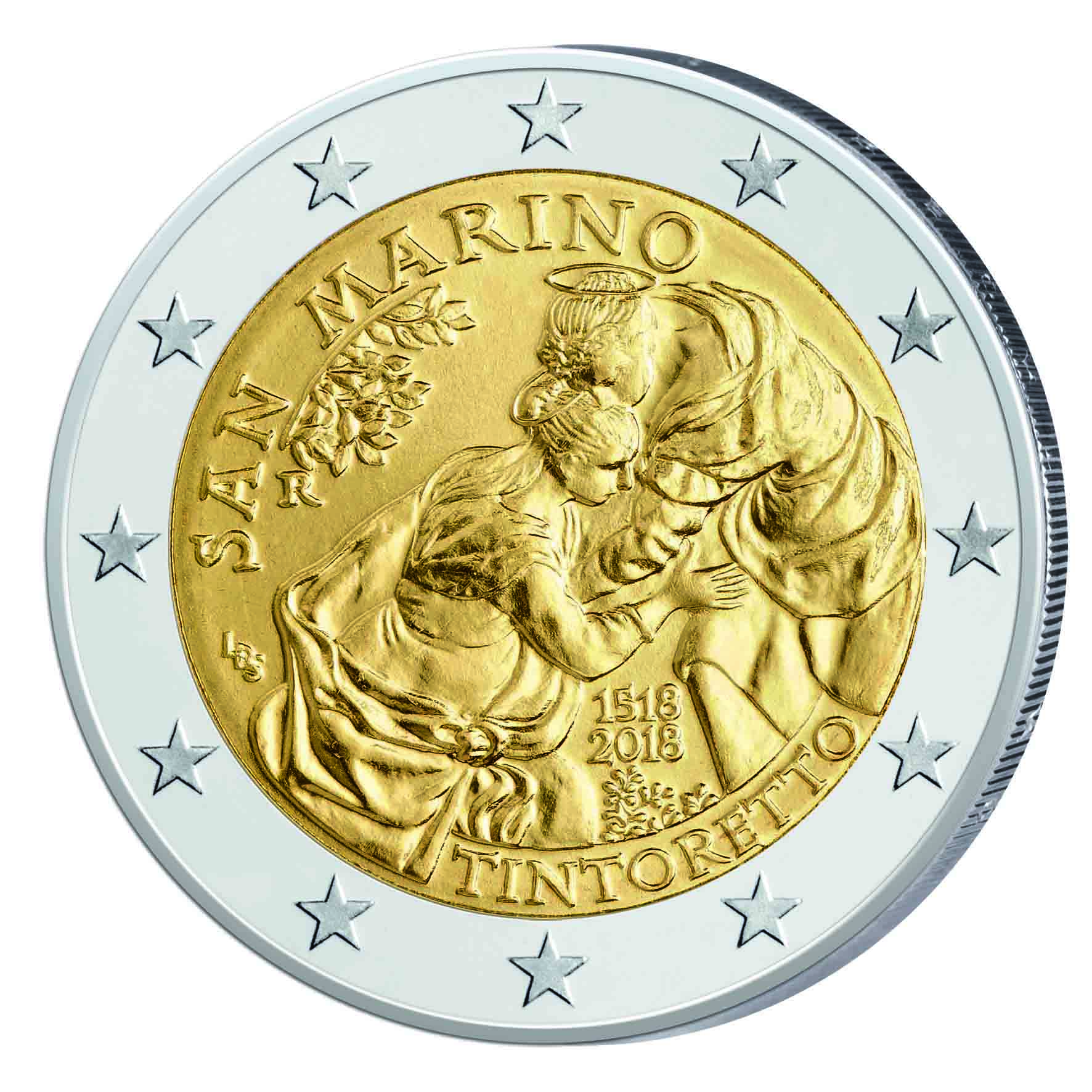 San Marino 2 Euro Coin 2018 Years Ins Token Price Chart Maker