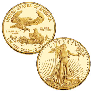 "American Gold Eagle 2015 – ""Lady Liberty"" von St. Gaudens"